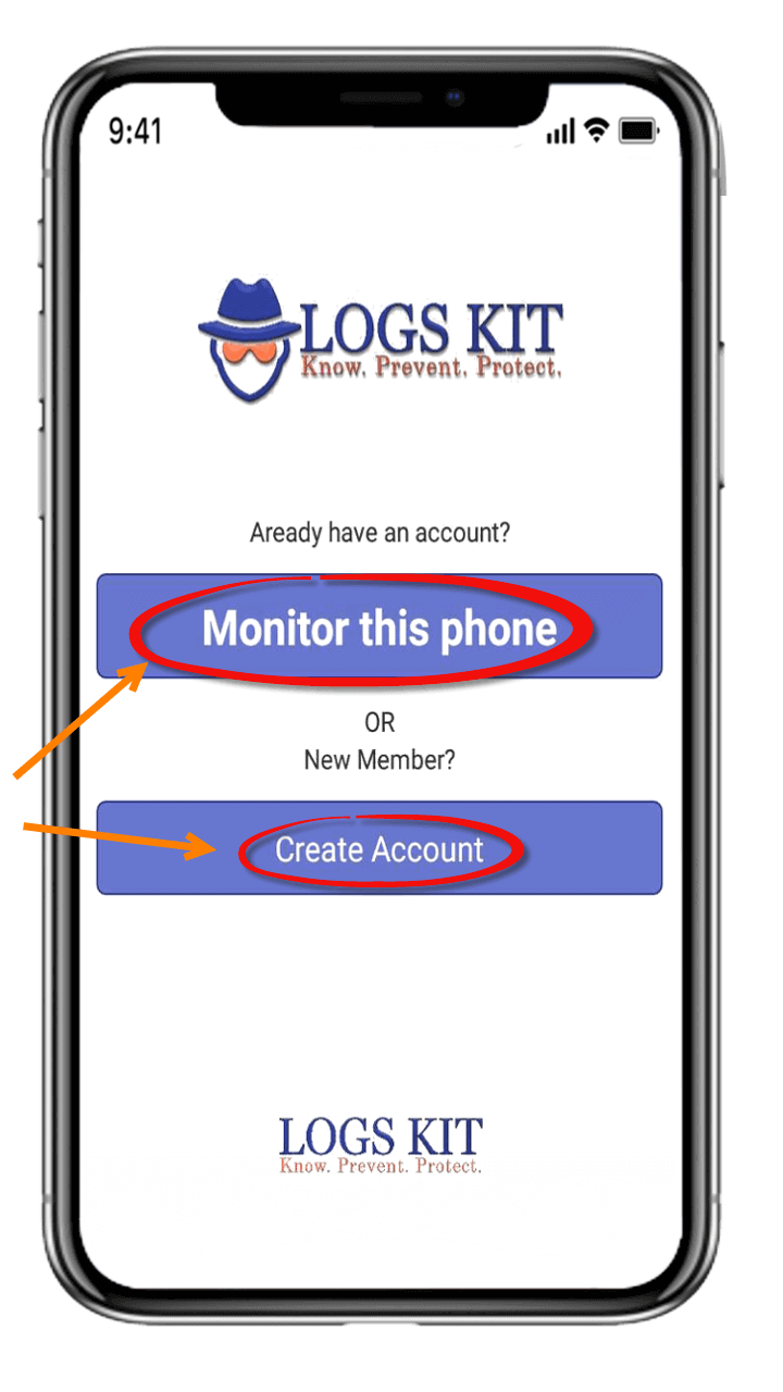 GET IT NOW - LogsKit Android Monitoring App
